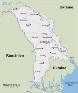 Moldawien karte