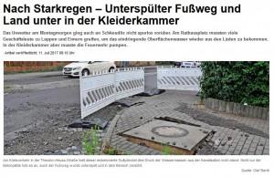 Starkregen Schkeuditz